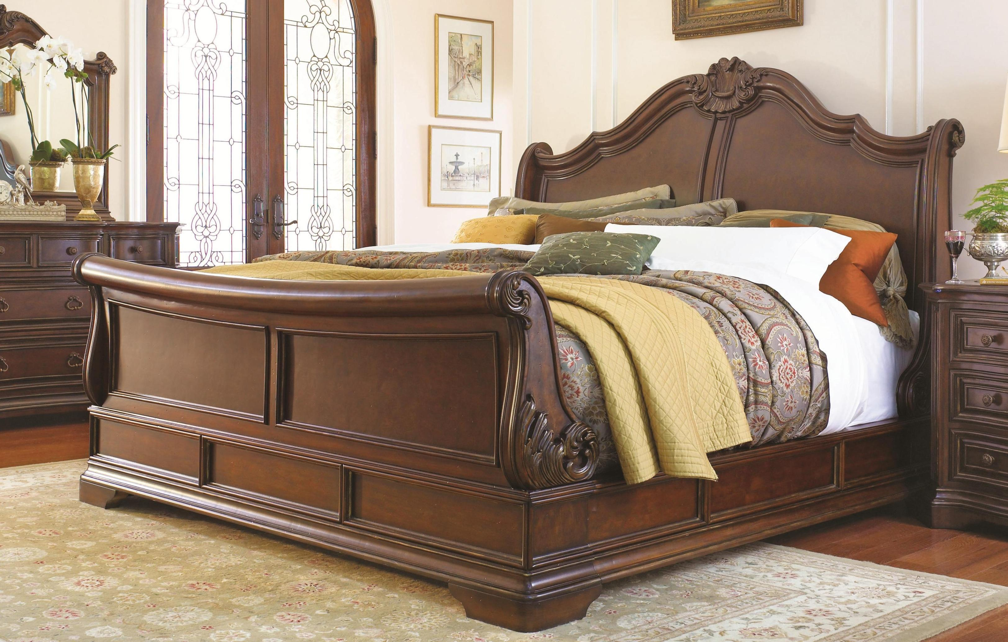 Image of: Full Size Slay Bed