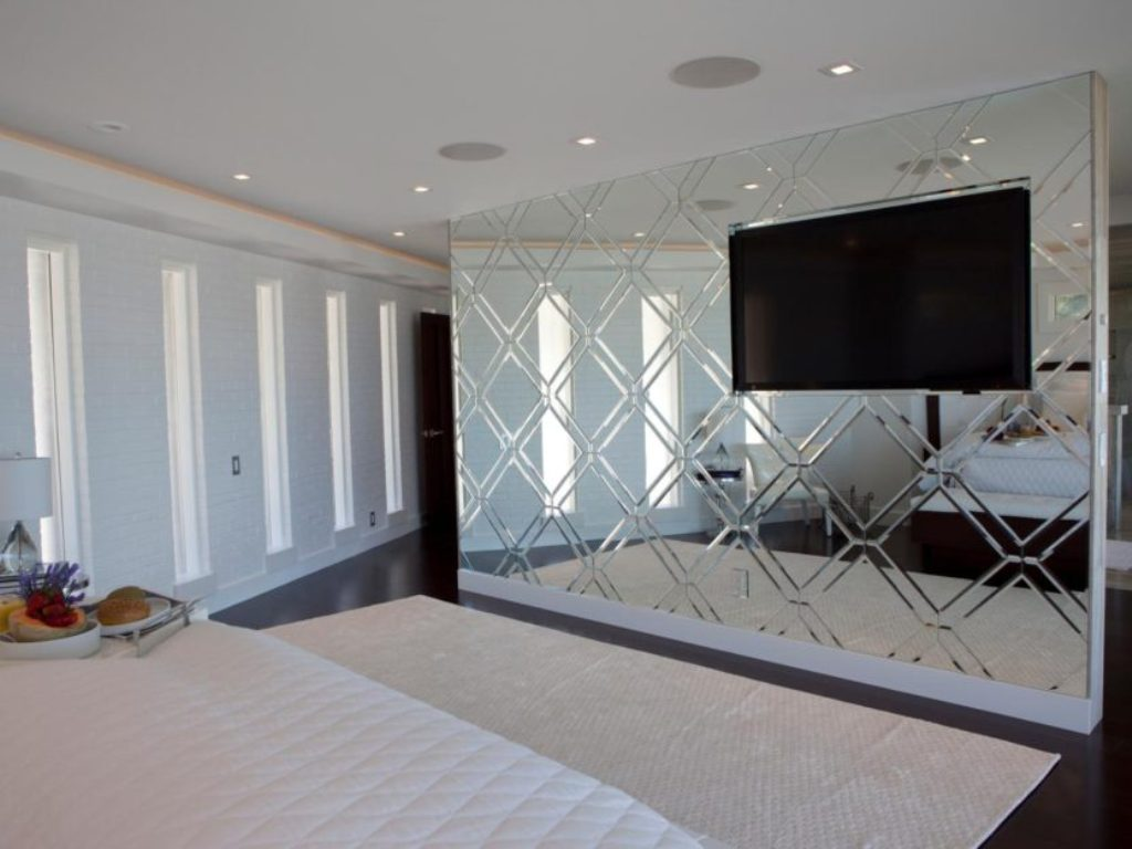 Image of: Full Wall Mirrors Decorative