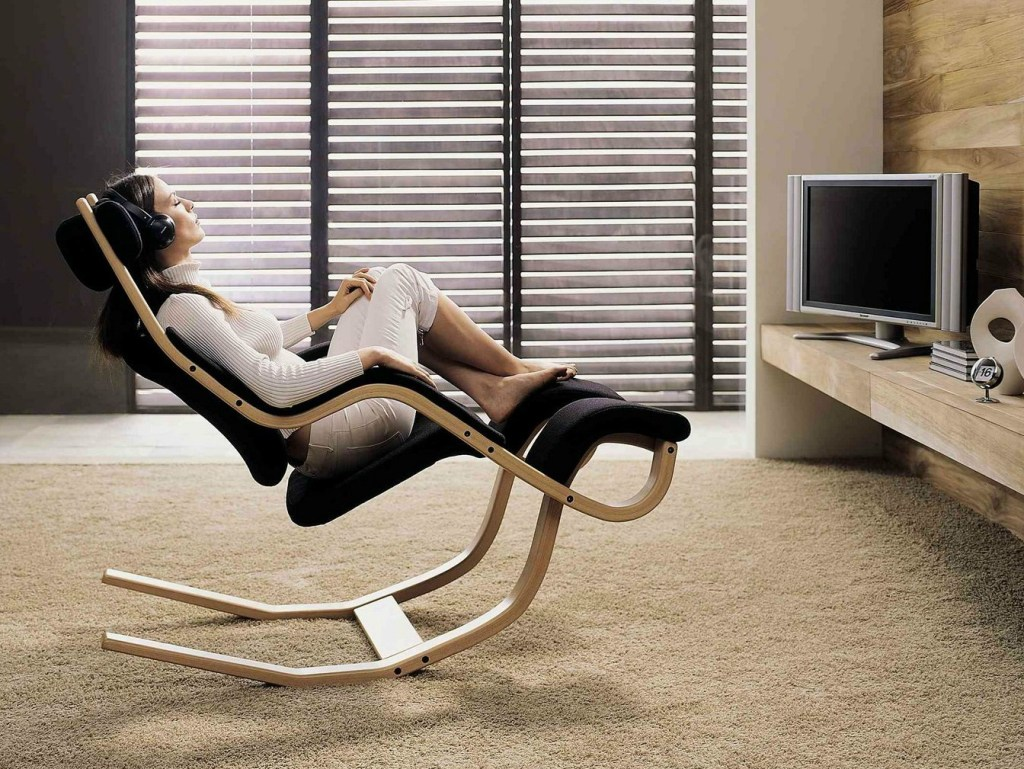 Image of: fully reclining office chair