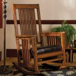 Function Mission Style Rocking Chair