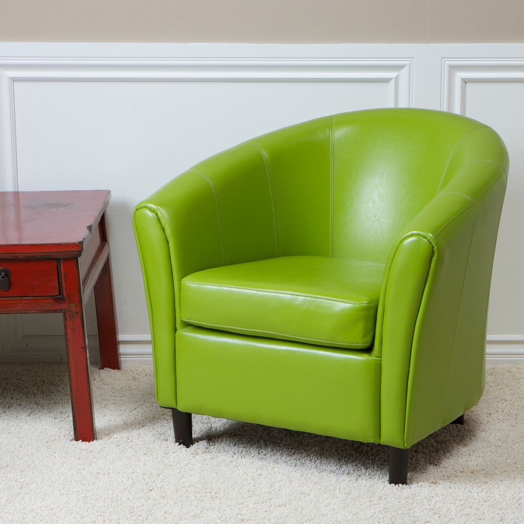 Image of: Furniture Modern Lime Green Accent Chair