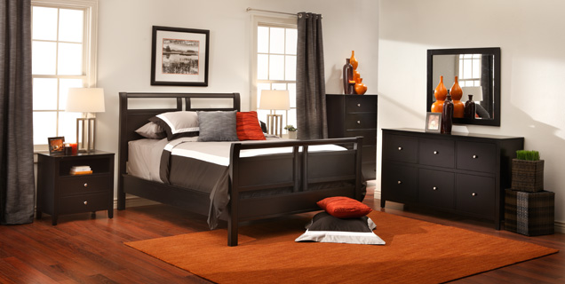 Image of: Furniture Row Bedroom Sets Kit