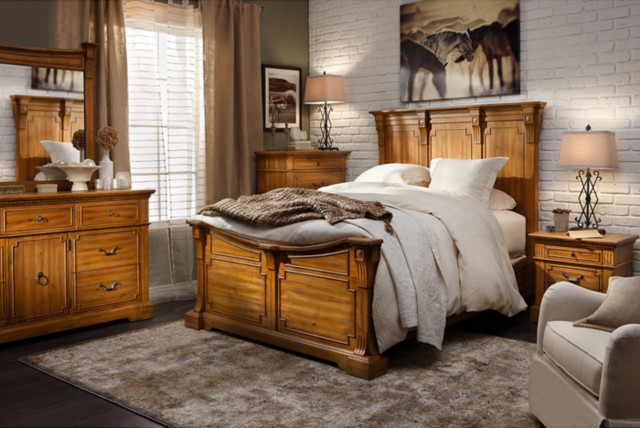 Image of: Furniture Row Bedroom Sets Traditional