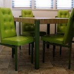 Furtinure Lime Green Accent Chair