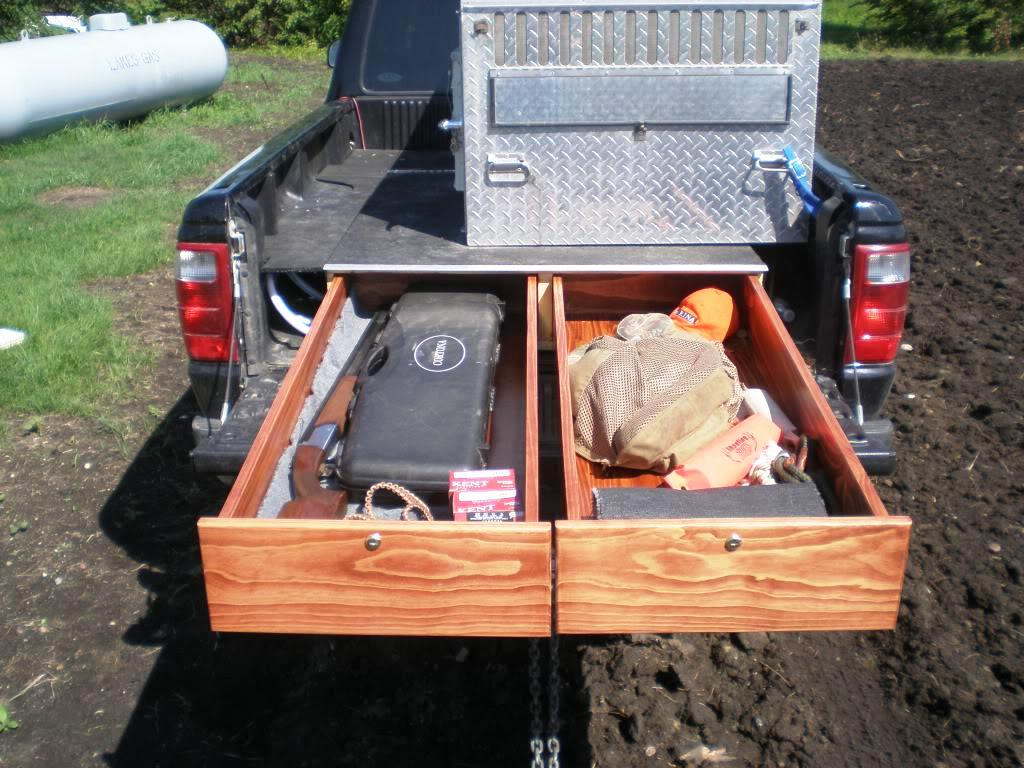 Image of: Geneva Truck Bed Storage Drawers