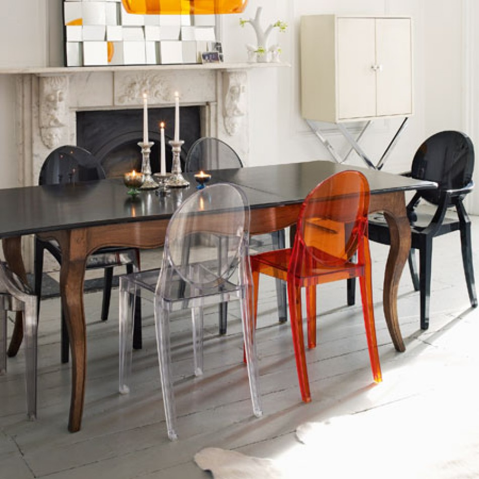 Image of: ghost chair ikea kitchen