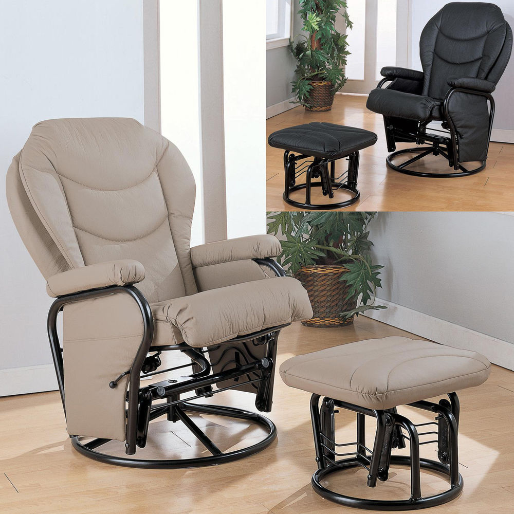 Image of: awesome glider recliner chair image