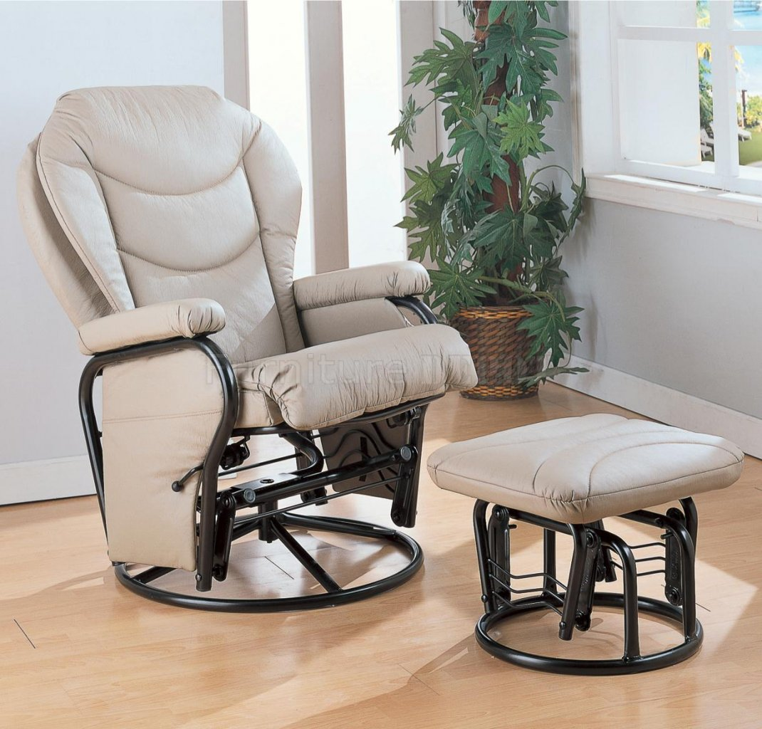 Image of: Glider Rocking Chairs Nursery