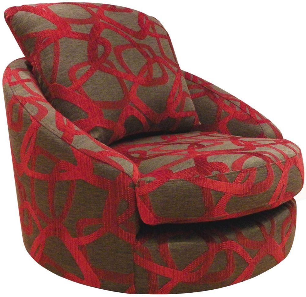 Image of: Good Swivel Accent Chairs