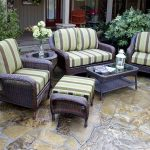 gray outdoor wicker chairs