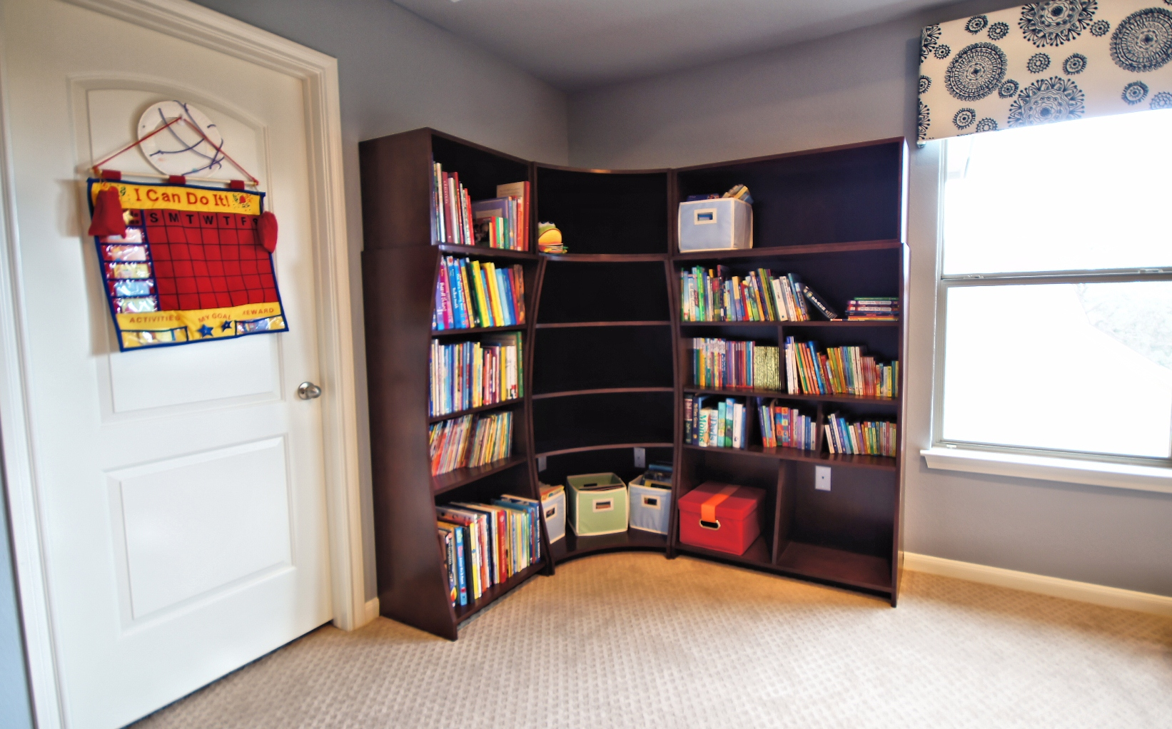 Image of: Great Corner Bookcase