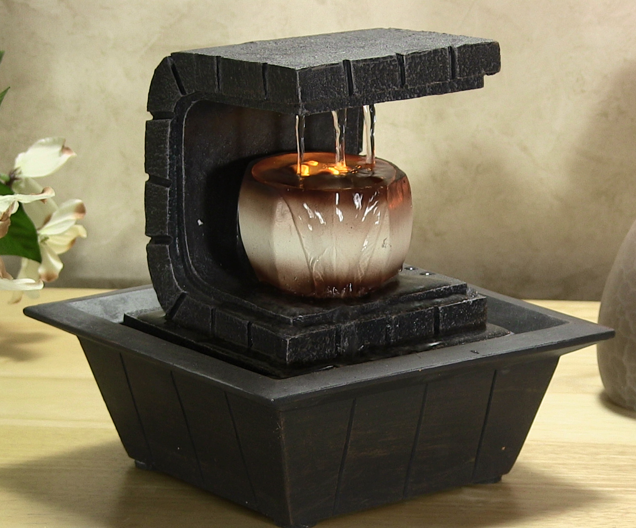 Image of: Great Tabletop Fountains