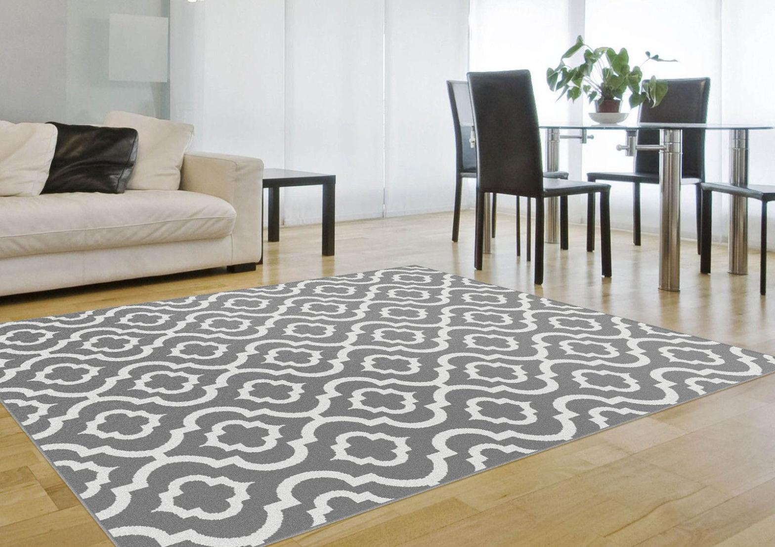 Image of: Grey Area Rug 5×7