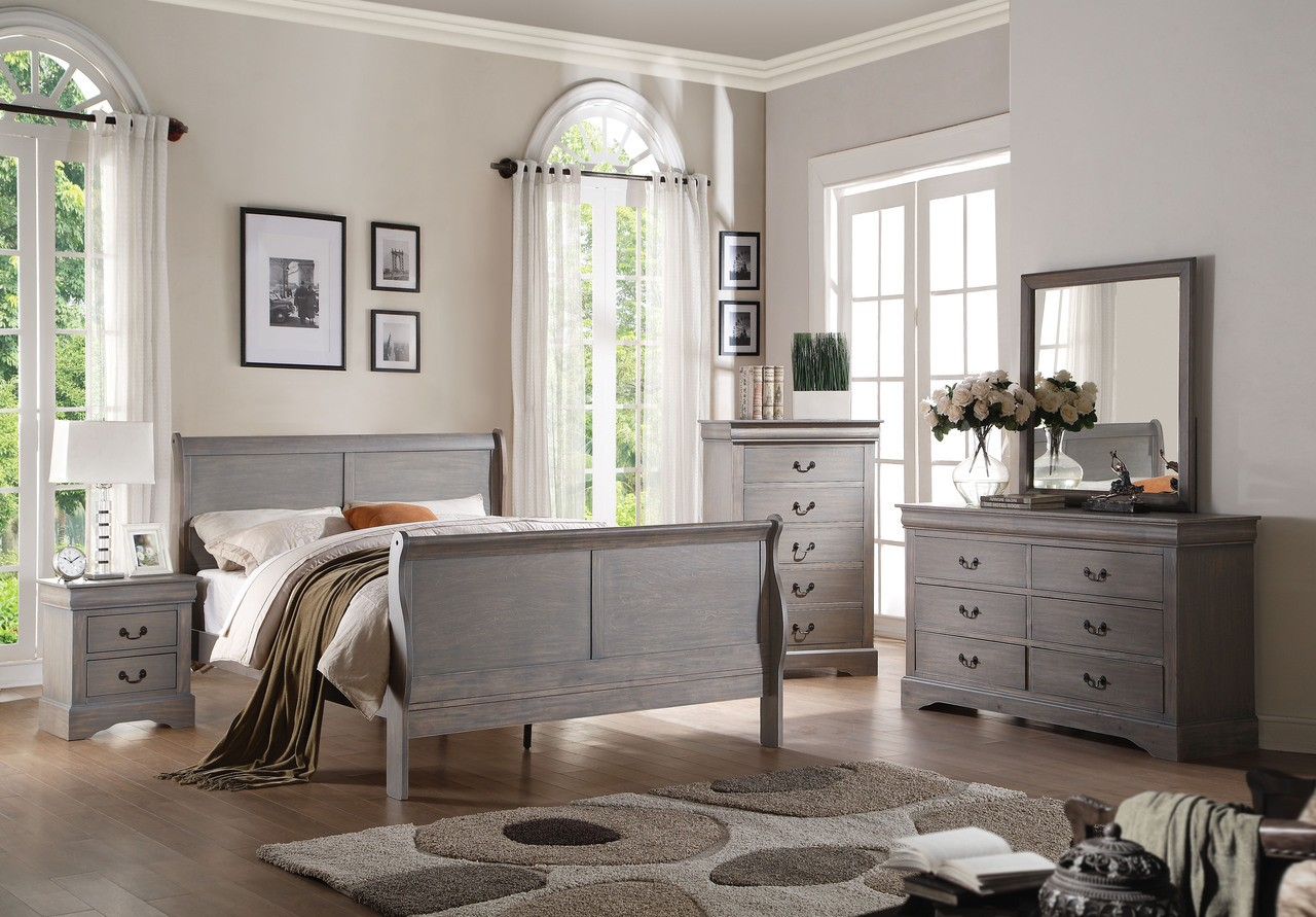 Image of: Grey Bedroom Furniture Canad