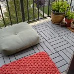 Grey Patio Deck Tiles