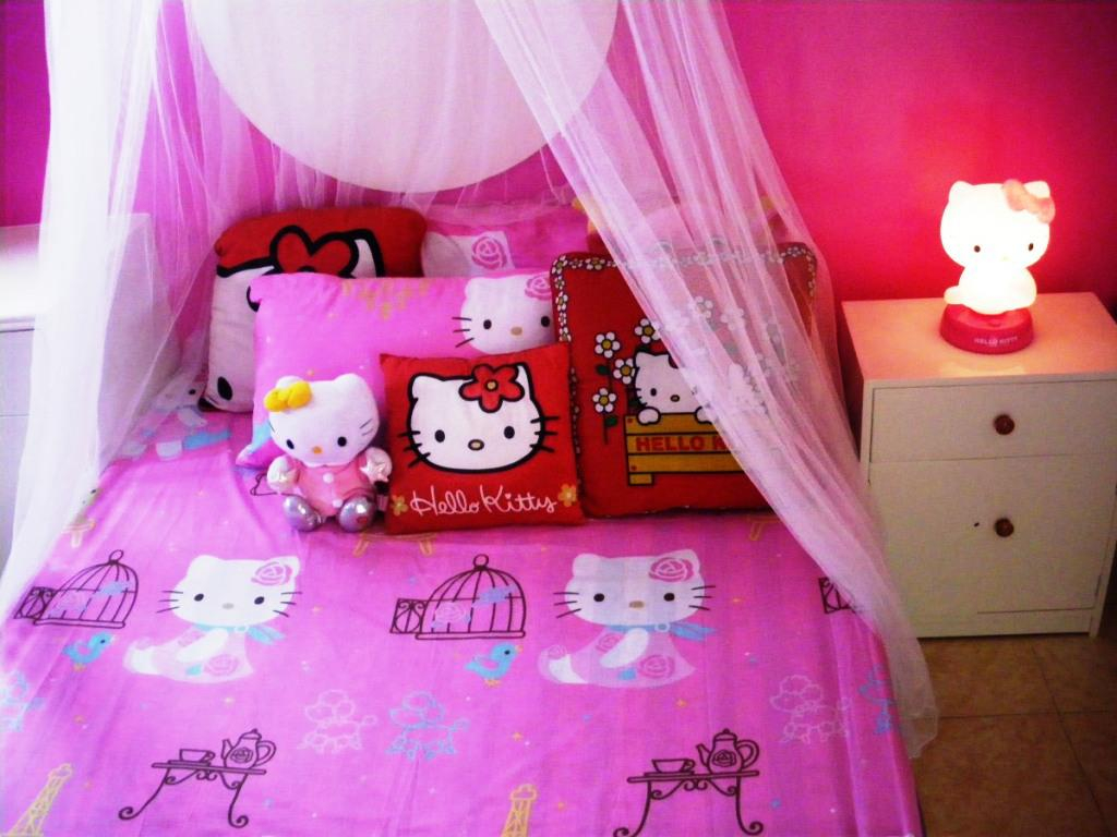 Image of: Hello Kitty Room Decoration Games