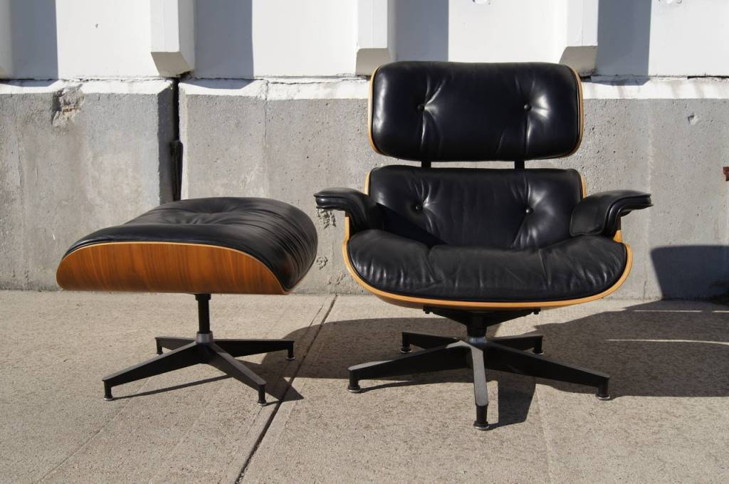 Image of: herman miller eames chair and ottoman