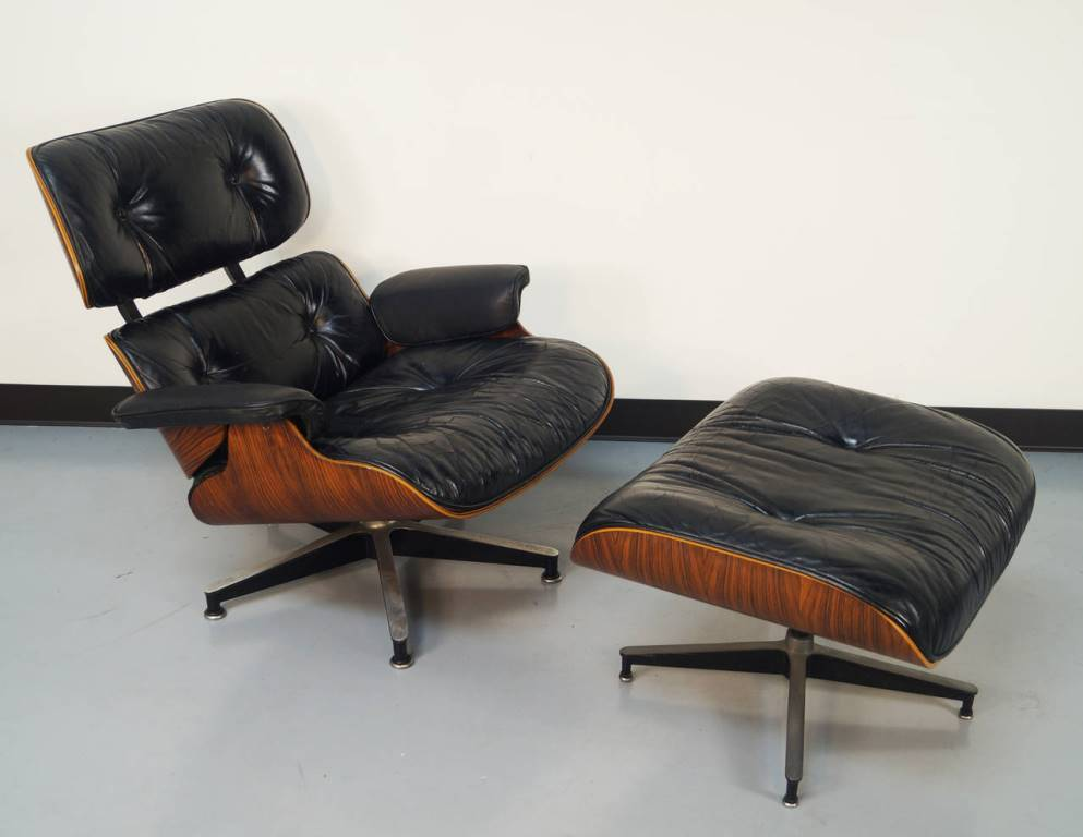 Image of: herman miller eames chair ottoman for sale