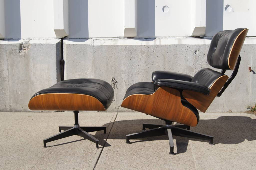 Image of: herman miller eames chair ottoman
