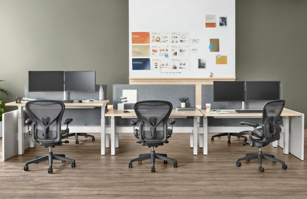 Image of: herman miller office chairs aeron