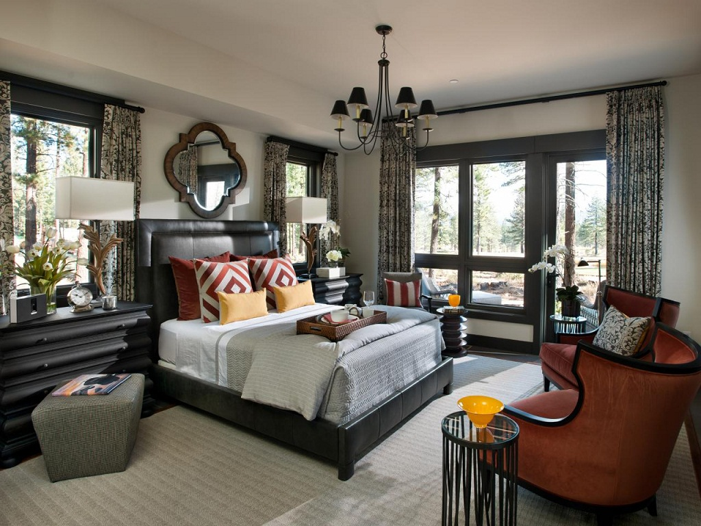 Image of: Hgtv Bedroom Decorations