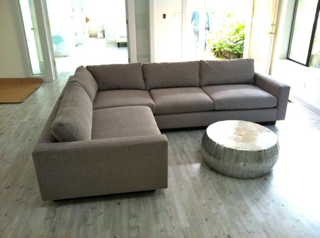 Image of: high deep seated sofa