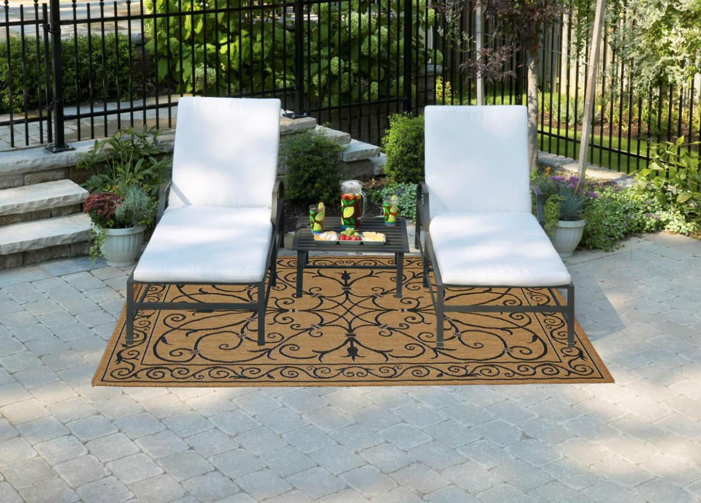 Image of: Home Depot Outdoor Rugs