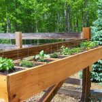 Home Made Deck Rail Planter Boxes