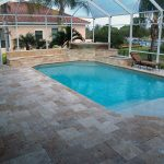 How to Install Travertine Pool Deck