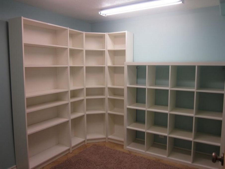 Image of: IKEA Billy corner bookcase assembly instructions
