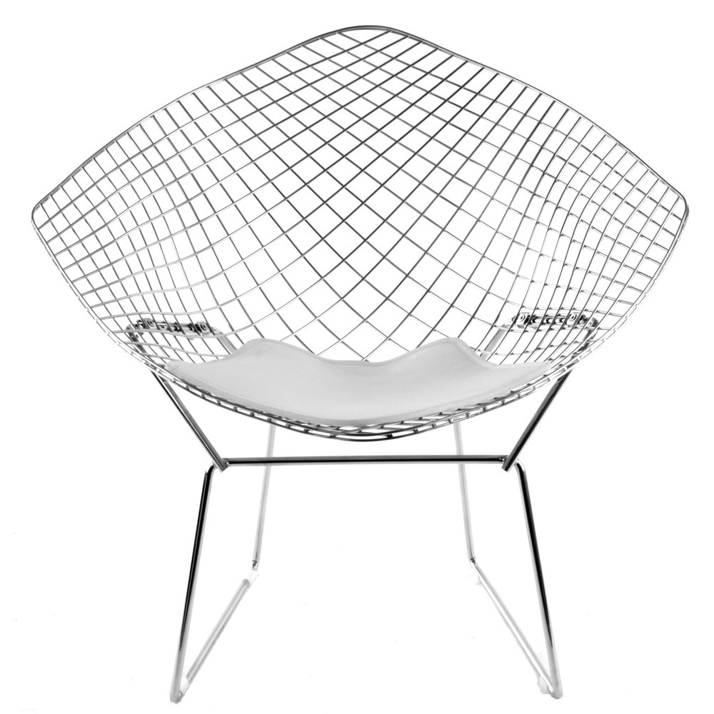 Image of: ideas bertoia diamond chair