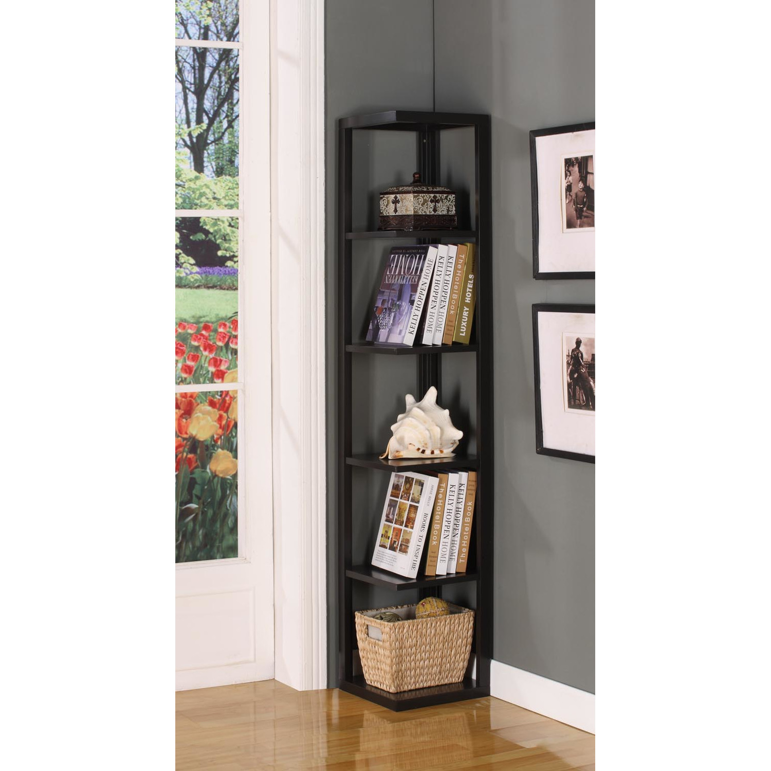Image of: Ideas Corner Bookcase