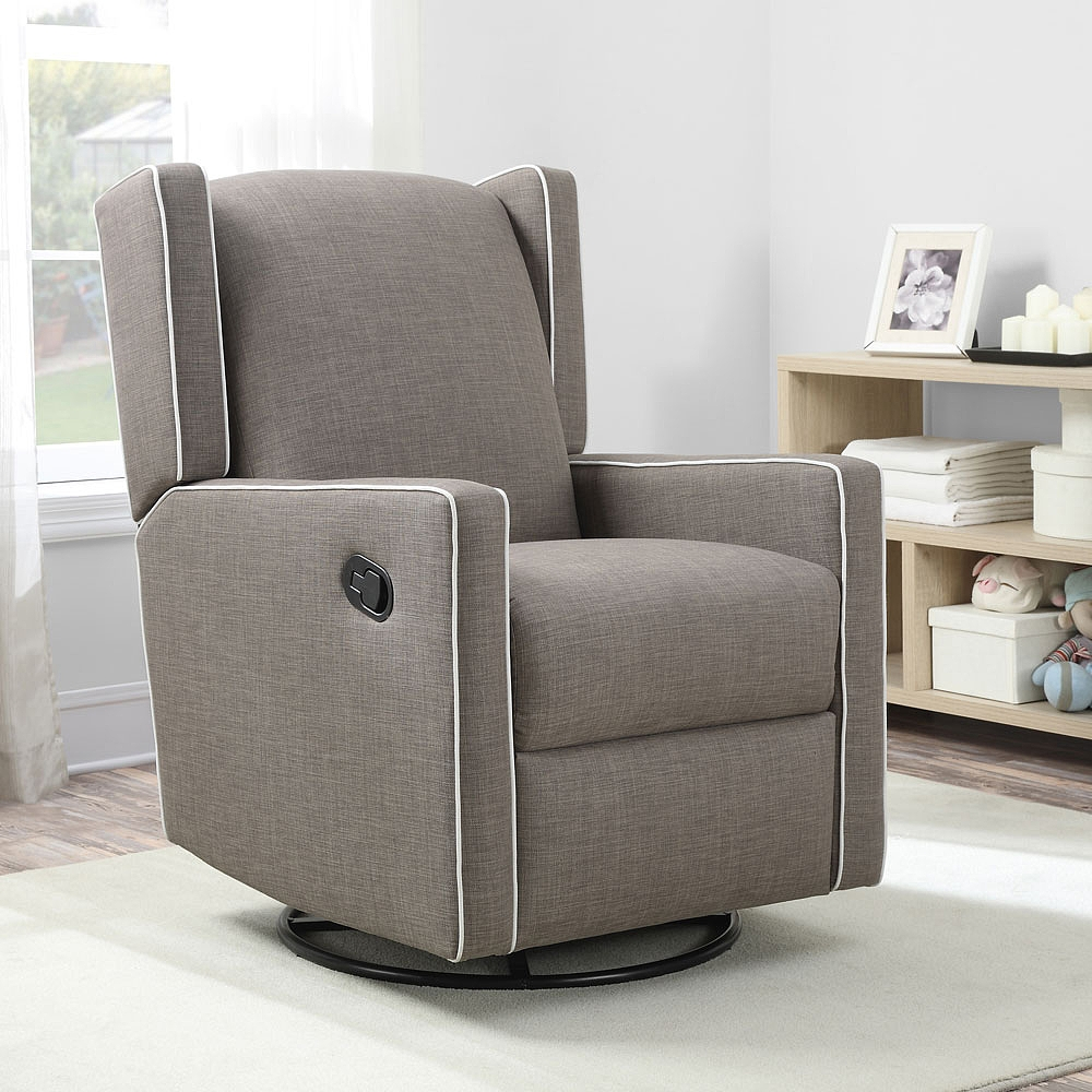 Image of: ideas swivel glider chair