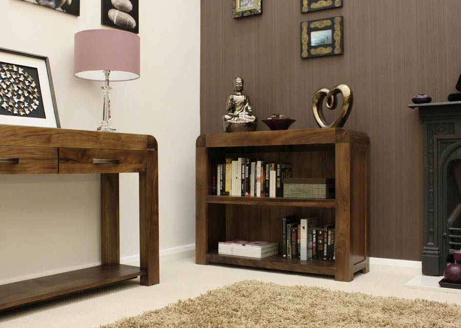 Image of: Ideas Walnut Bookcase 2018