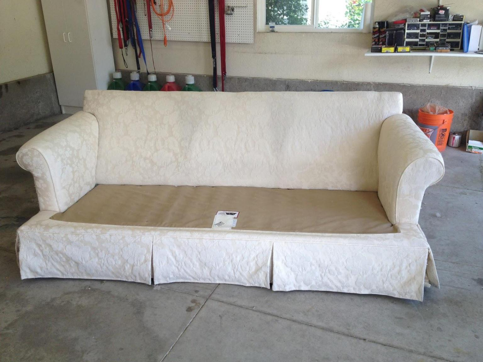 Image of: Ikea Slipcover Sofa