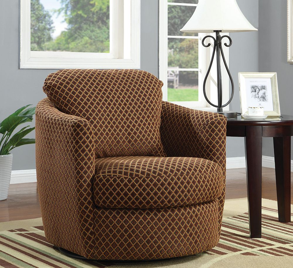 Image of: Images of Swivel Accent Chairs