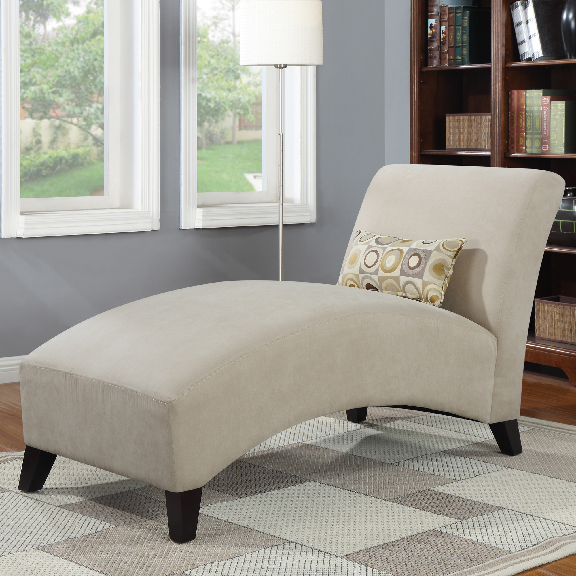 Image of: Indoor Chaise Lounge Chairs for Bedroom