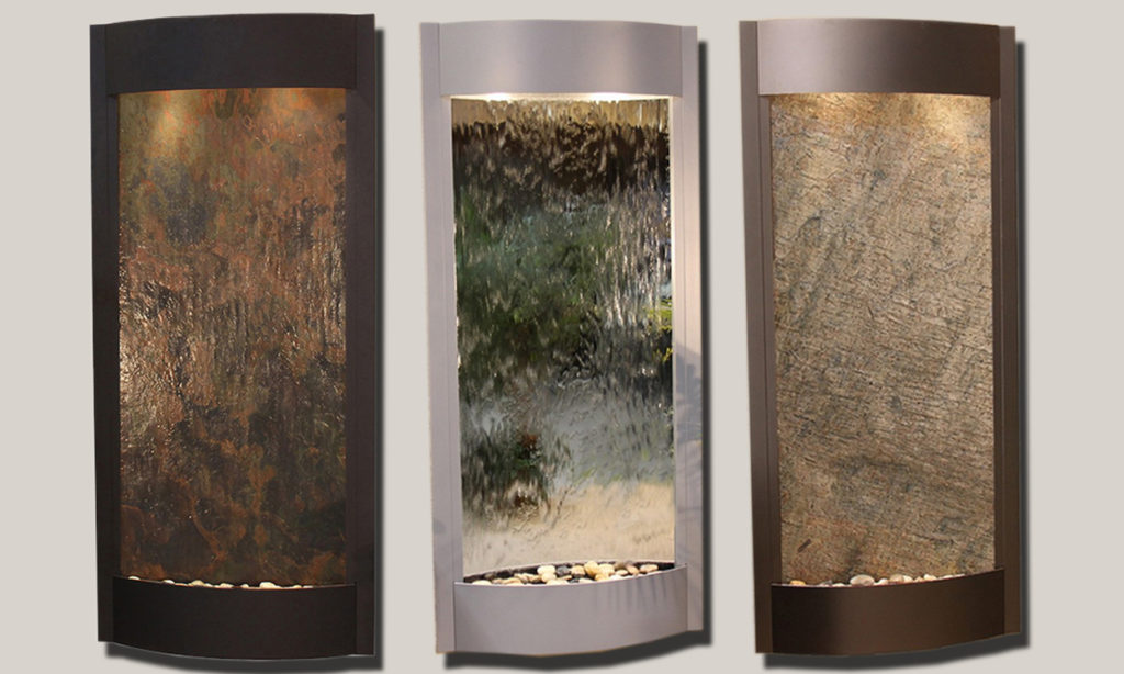 Image of: Indoor Wall Fountains Corner