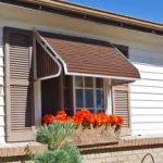 Indow Awnings for Homes Brown