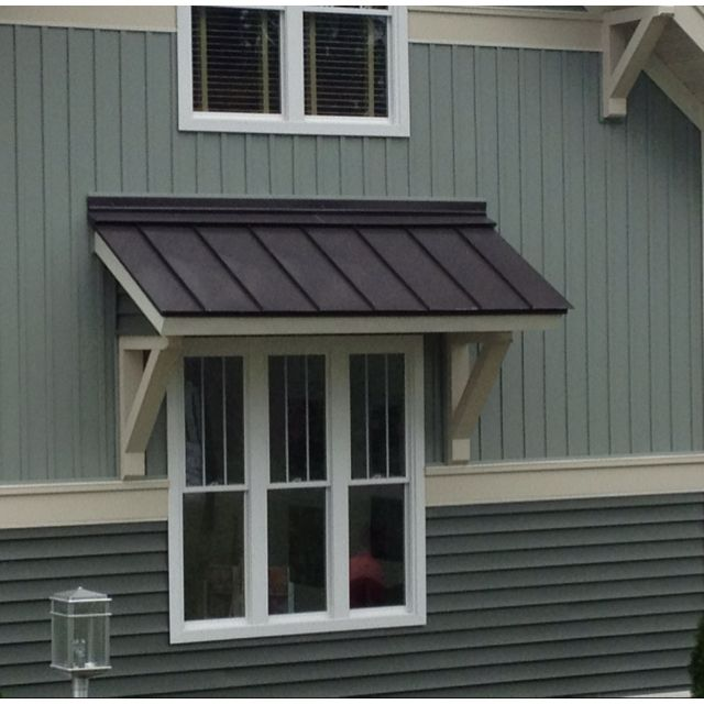 Image of: Indow Awnings for Homes Dark