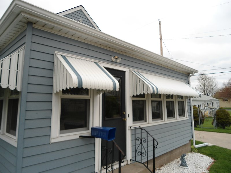 Image of: Indow Awnings for Homes Design
