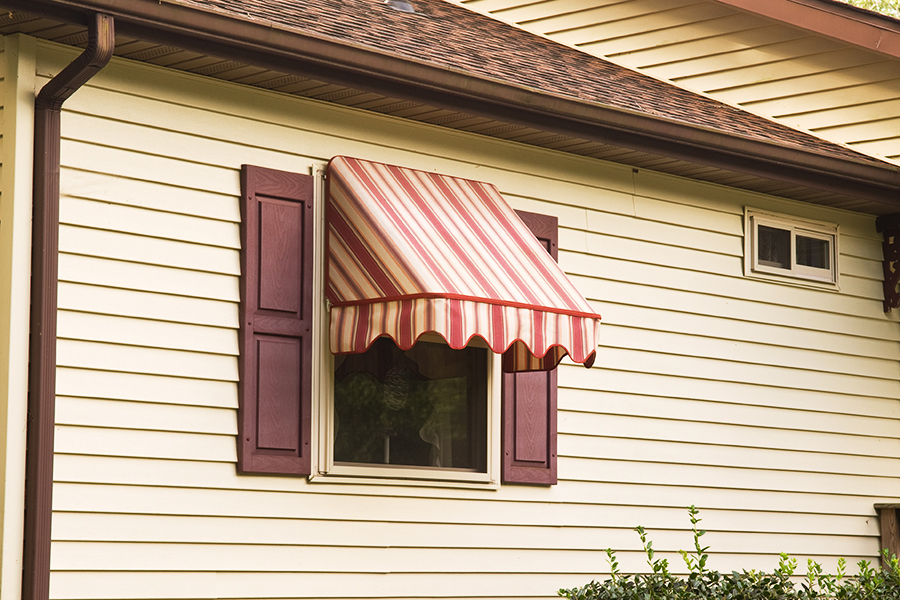 Image of: Indow Awnings for Homes Plan