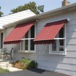 Indow Awnings for Homes Red