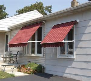 Image of: Indow Awnings for Homes Red
