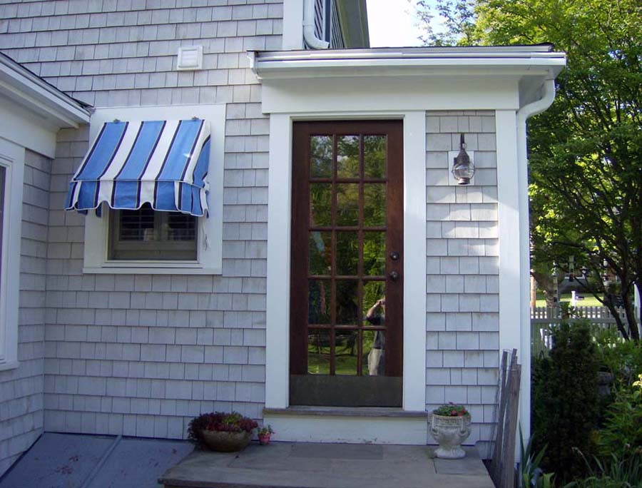 Image of: Indow Awnings for Homes Small