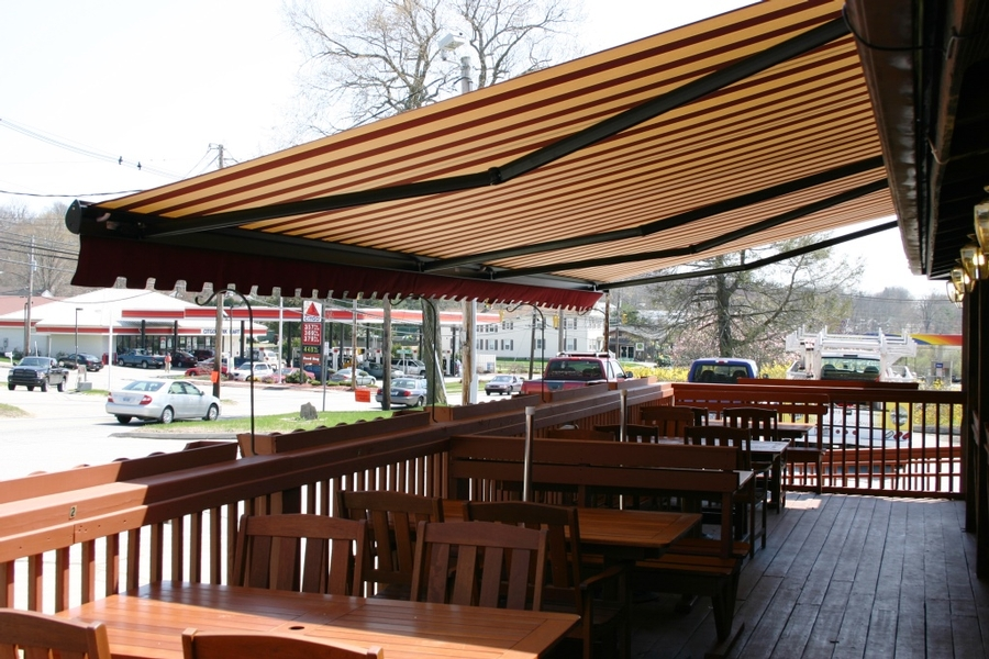 Industrial Awnings For Restaurant