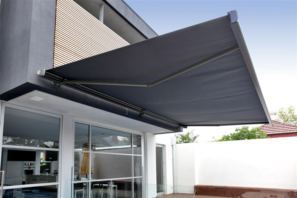 Image of: Industrial Awnings Shade