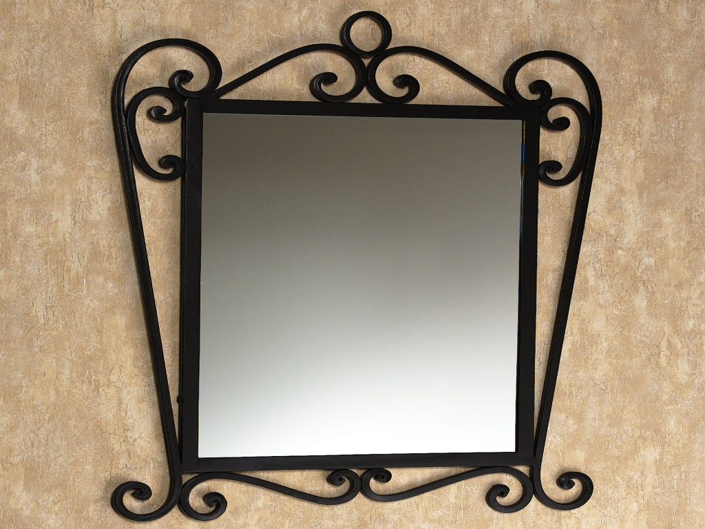 Image of: Industrial Wall Mirror Parts