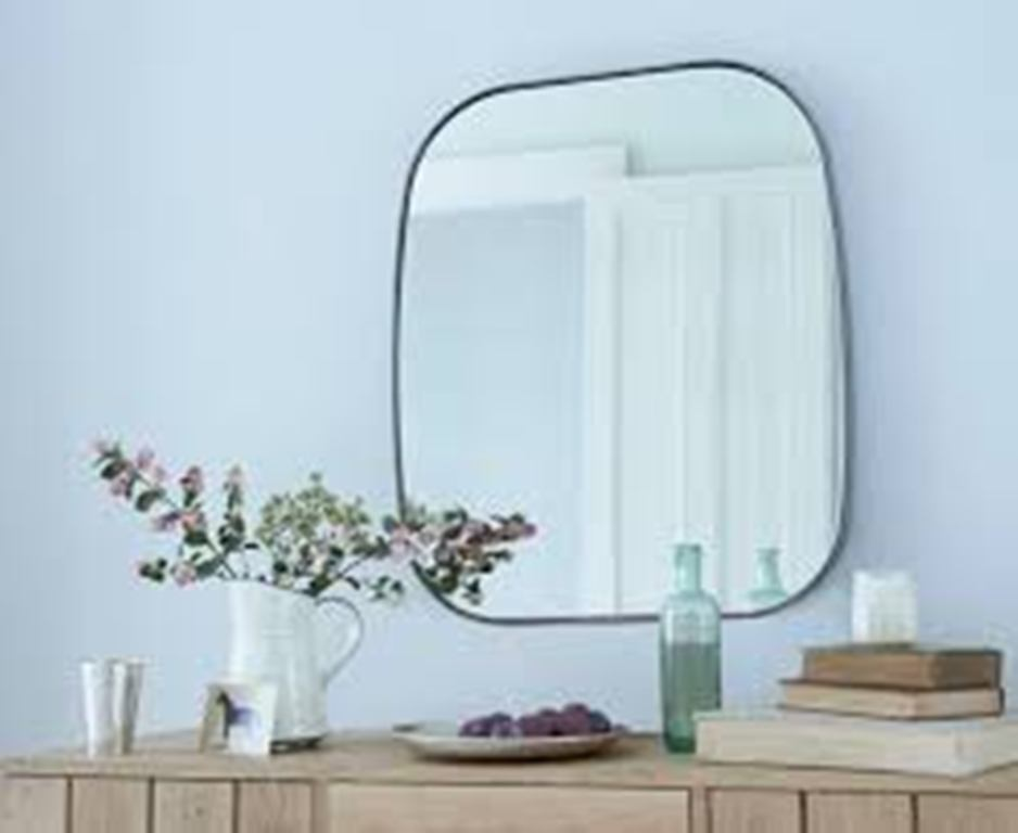 Image of: Industrial Wall Mirror Tiles