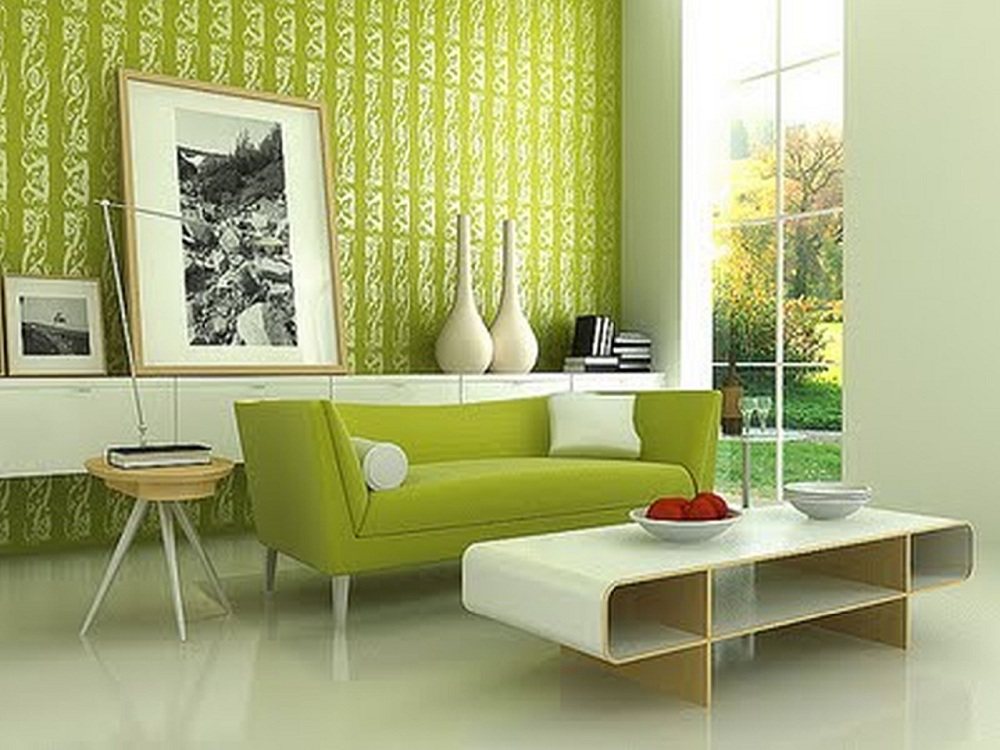 Image of: Interior Lime Green Accent Chair